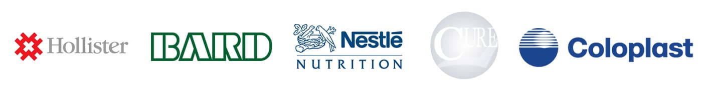 Hollister BARD Nestle Nutrition Coloplast