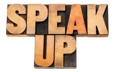 When should we speak up for ourselves?